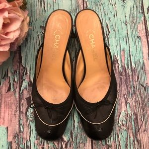 Authentic Chanel vintage Mules